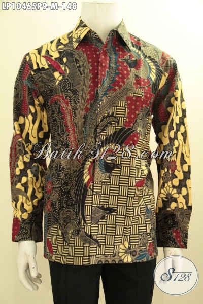 Model Baju Batik Lengan Panjang Pria Terbaru, Hem Halus ...