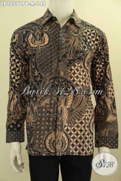 Toko Baju Batik Paling Up To Date, Sedia Hem Lengan Panjang Klasik Bahan Adem Proses Printing Cabut, Cocok Untuk Kerja Dan Rapat Hanya 148K, Size M