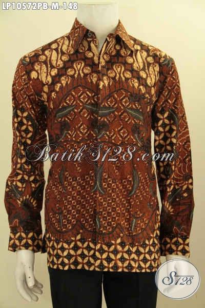 Model Baju Batik Atasan Pria Muda, Hem Batik Solo Istimewa Nan Berkelas, Pakaian Batik Solo Terbaru Motif Klasik Proses Printing Cabut Size M, Bikin Penampilan Berwibawa