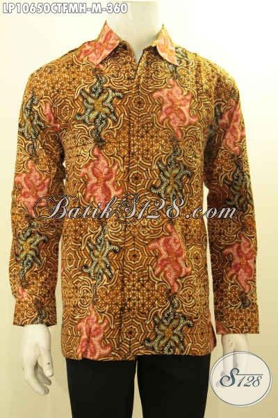 Batik Pria, Kemeja Batik Cap, Kemeja Batik Semi Tulis, Kemeja Lengan Panjang
