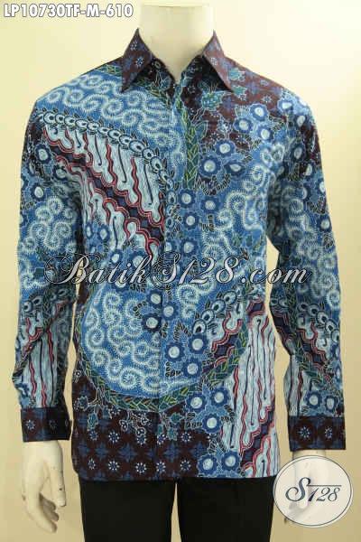 Produk Baju Batik Mewah Premium Lengan Panjang Full Furing, Hem Batik Solo Jawa Tengah Istimewa Spesial Untuk Pejabat Dan Eksekutif Tampil Gagah Berwibawa Hanya Dengan 600 Ribuan, Size M