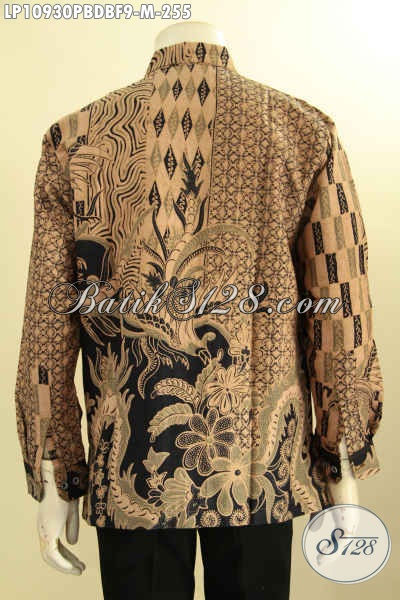 Kemeja Batik Elegan Mewah Full Furing Motif Bagus, Baju Batik Printing Lengan Panjang Bahan Dolby Kwalitas Istimewa, Tampil Gagah Berwibawa