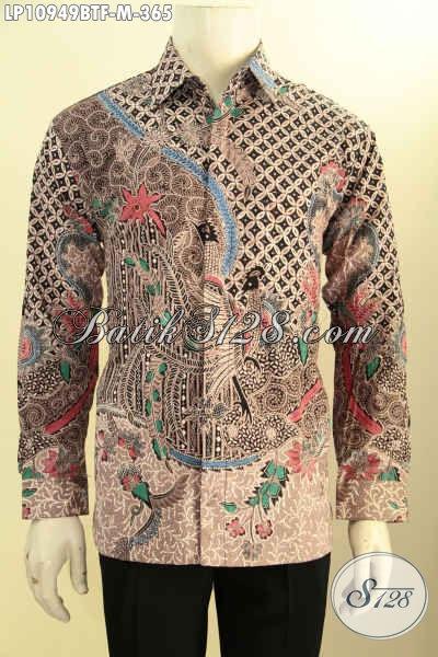Hem Batik Solo Terbaru, Kemeja Batik Elegan Dan Berkelas Motif Klasik Lengan Panjang Full Furing Yang Membuat Penampilan Lebih Premium, Proses Kombinasi Tulis Hanya 300 Ribuan