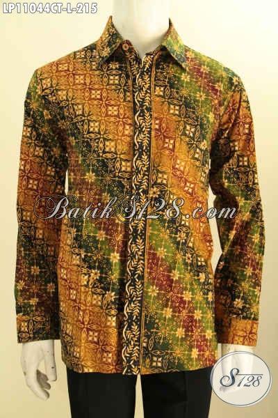 Baju Kemeja Batik Solo Jawa Tengah Nan Istimewa, Pakaian Batik Lengan Panjang Atasan Untuk Pria Terlihat Gagah Dan Mempesona Pilihan Komplit