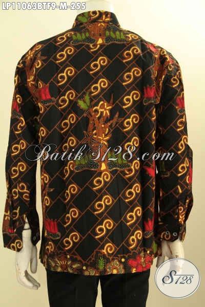 Batik Hem Solo Lengan Panjang Nan Istimewa, Produk Pakaian Batik Modis Dan Berkelas Motif Bagus Proses Kombinasi Tulis, Penampilan Lebih Istimewa