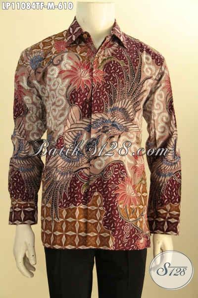 Batik Kemeja Premium Lengan Panjang, Busana Batik Mewah Khas Pejabat Dan Eksekutif Untuk Penampilan Berkelas Dan Berwibawa