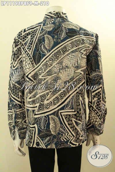 Pusat Baju Batik Online Terlengkap Langganan Eksekutif, Sedia Kemeja Lengan Panjang Motif Klasik Bahan Adem Proses Printing Cabut Daleman Full Furing, Penampilan Lebih Sempurna