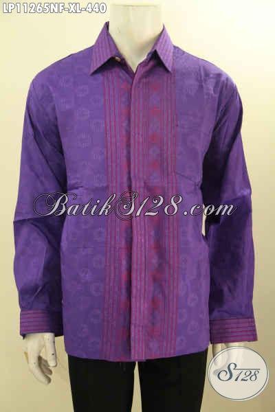 Model Baju Tenun Istimewa Untuk Pria Dewasa Tampil Beda, Busana Tenun Jawa Tengah Kekinian Model Lengan Panjang Full Furing Hanya 400 Ribuan