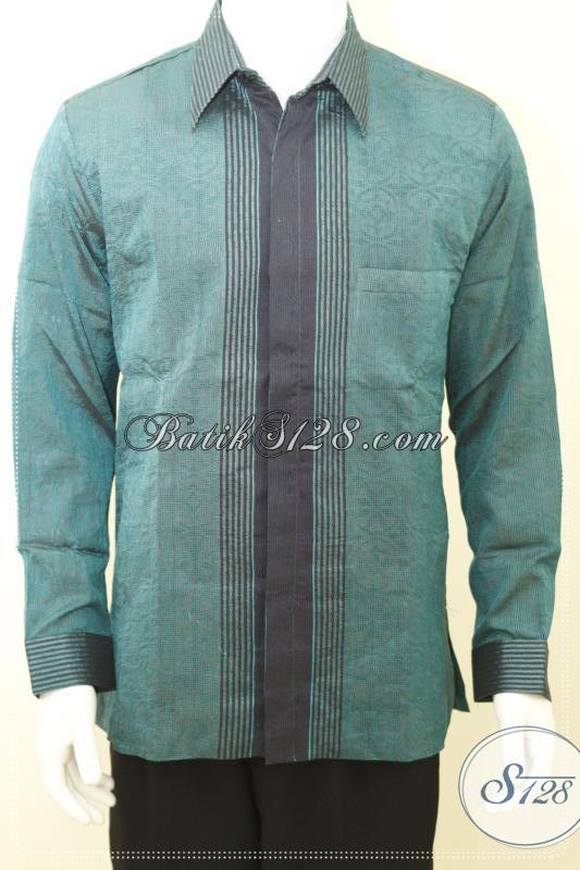 Baju Tenun Pria Untuk Seragam Pejabat Partai, Organisasi Maupun Perusahaan [LP1224NF-L]