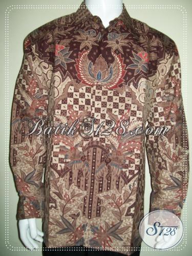 Kemeja Batik Pria Istimewa Buatan Pengerjain Solo Baju Batik Tulis