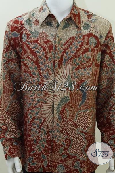 Baju Batik Sutera Lelaki Modern da45ddec6f
