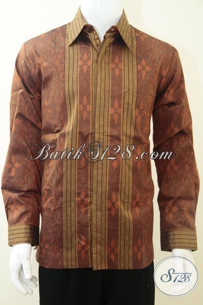 Jual baju tenun pria elegan untuk hadiah kado pejabat Jual baju gamis untuk pria