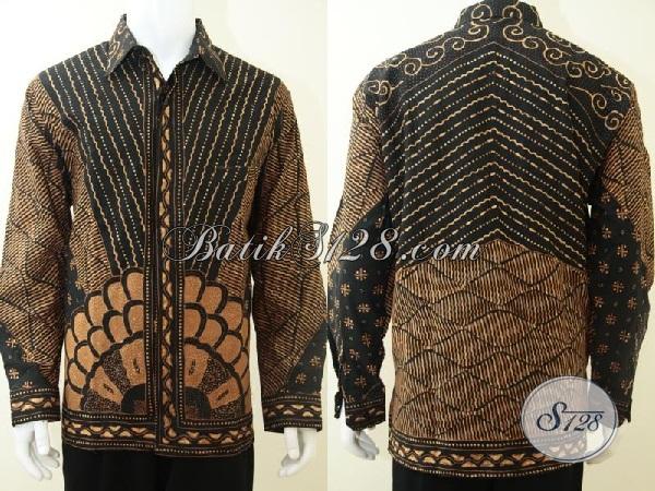 Baju Batik Tulis Pria Lengan Panjang Untuk Acara Resmi Dan Santai [LP2141TSF-XL]