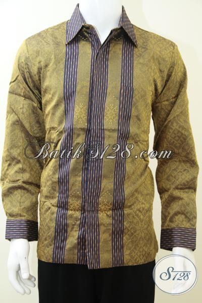 Online Shopping Baju Tenun Pria Kualitas Bagus, Berkelas, Dan Elegan [LP2218NF-L]