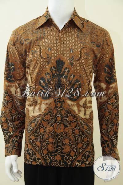 Online Shop Busana Batik Solo Jual Baju Batik Pria Lengan Panjang