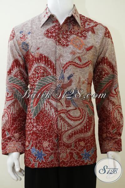 Baju Batik Sutra Premium Ukuran L Asli Batik Solo Harga