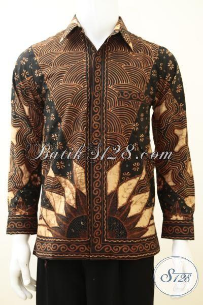 Baju Tenun Tulis Kwalitas Premium Untuk Lelaki Muda Tampil Dewasa, Hem Batik Tulis Full Furing Cowok Semakin Gagah Berkelas, Size S