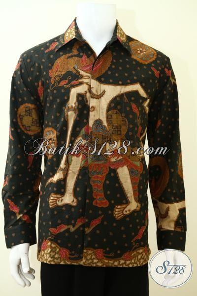 Upgrade Fashion Batik Pria Dengan Koleksi Baju Batik Solo Berkelas, Baju Batik Klasik Lengan Panjang Full Furing Elegan, Size XL