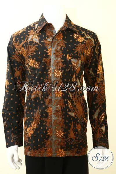Kemeja Batik Istimewa Proses Tulis Dilengakapi Full Furing, Baju Batik Premium Langganan Para Executive  [LP3487TF-L]