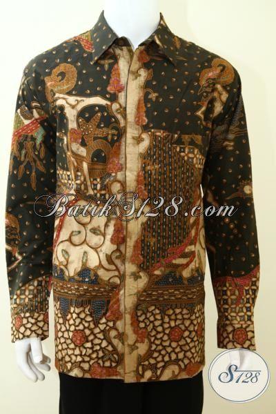 Pakaian Batik Tradisional Jawa memabuta Pria  f18ec2c159