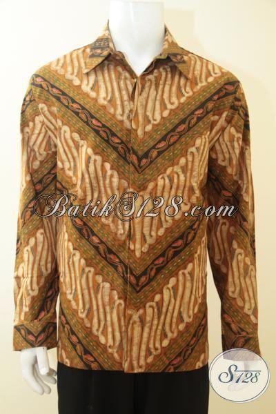 Busana Batik Klasik Proses Tulis Full Delaman Furing, Busana Batik Kwalitas Premium Tampil Lebih Maximum [LP3684TF-XL]