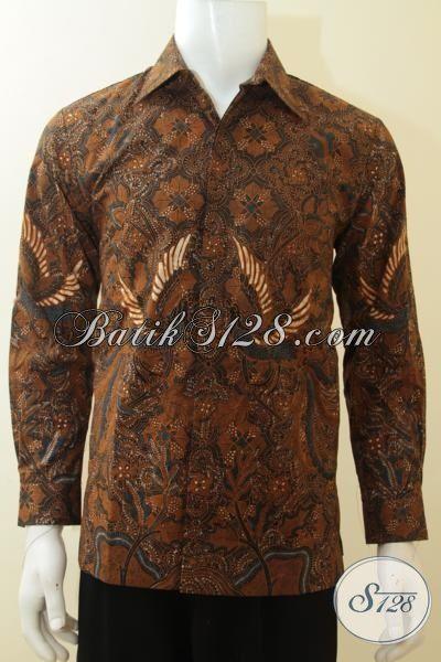 Kemeja Batik Lengan Panjang Motif Klasik Trend Terkini Khas Solo Jawa  Tengah 7e726dae60