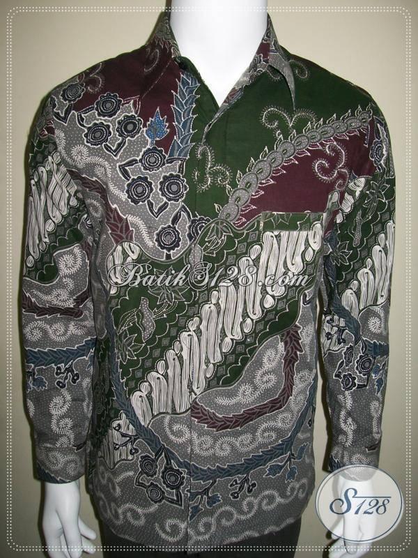 Pusat Kemeja Pria Modern Baju Batik Tulis Lengan Panjang