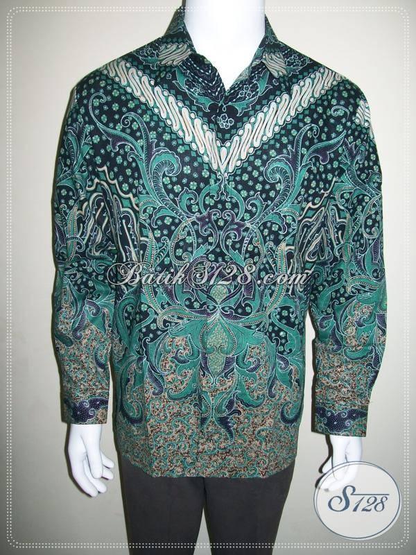 Hem Batik Lengan Panjang Motif Bagus Keren dan Elegan [LP422CT-M]