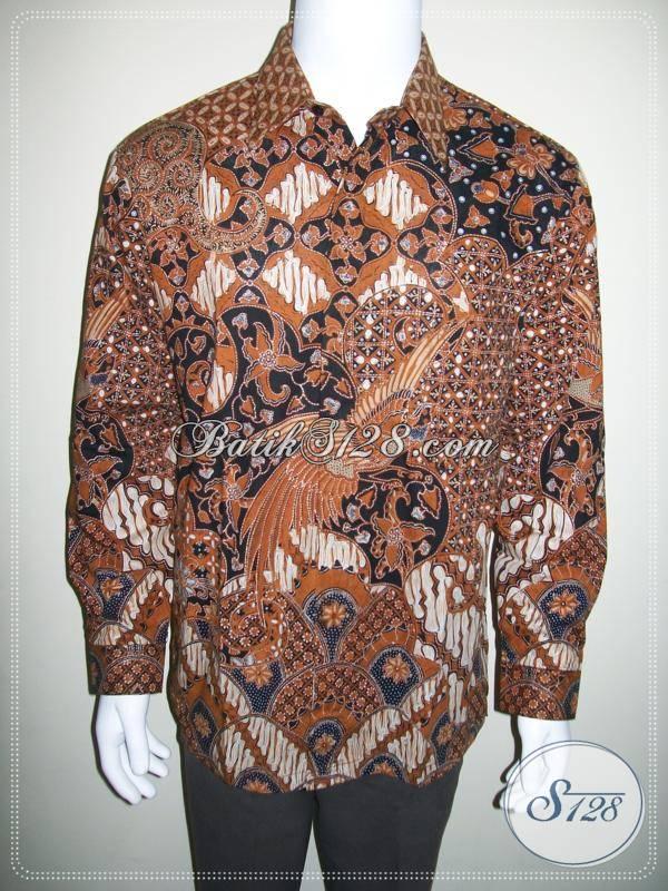 Kemeja Batik Lengan Panjang Murah Asli Batik Solo Online [LP423CT-L]