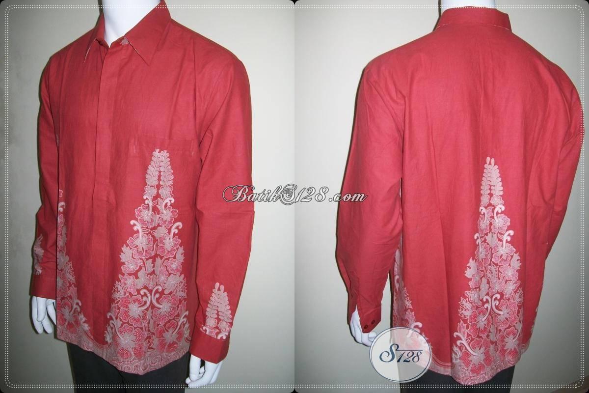 ... Kemeja Batik Muslim Model dan Motif Terbaru Simple Sederhana Elegan   LP427BT-XL  206af5affe
