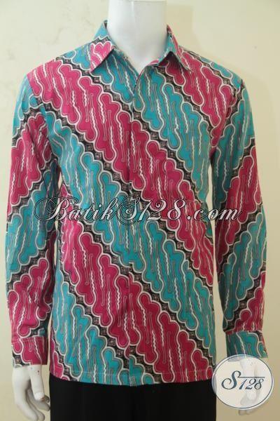 Baju Pesta Batik Solo Kemeja Batik Modern Motif Parang Batik