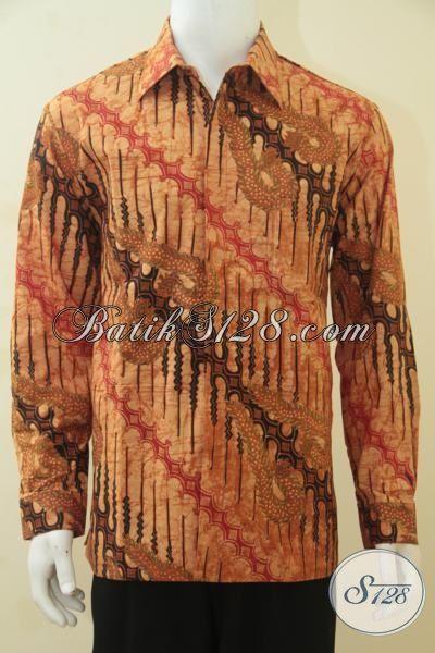 Hem Batik Parang Naga Mewah Dan Istimewa, Baju Batik Kombinasi Tulis Premium Berbahan Halus Dilengkap Daleman Full Furing, Size L – XL