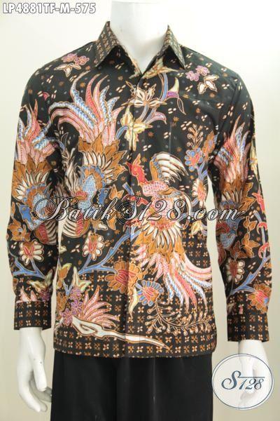 Toko Baju Batik Online Lengkap Dan Up To Date, Sedia Hem Lengan Panjang Mewah Pake Furing Proses Tulis Motif Berkelas Tampil Lebih Berwibawa, Size M