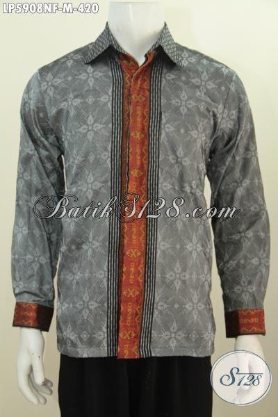 Produk Baju Tenun Lengan Panjang Istimewa, Pakaian Tenun Halus Full Furing Berbahan Premium Khas Jawa Tengah Elegan Untuk Rapat Dan Acara Fromal Lainnya, Size M