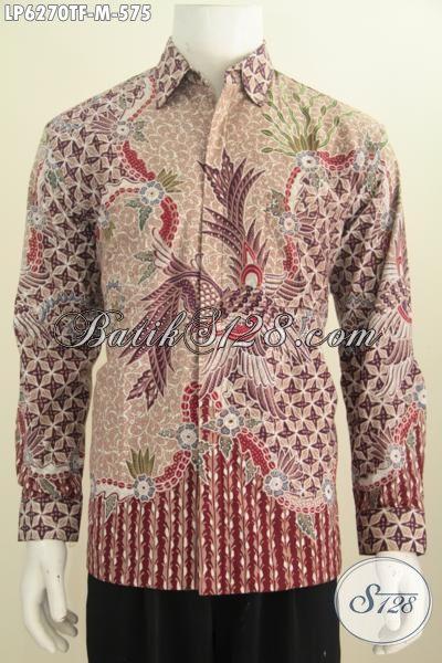 Toko Online Pakaian Batik Premium, Busana Batik Elegan Halus Proses Tulis Asli Dari Jawa Tengah, Baju Batik Istimewa Full Furing Bikin Penampilan Lebih Berkelas, Size M