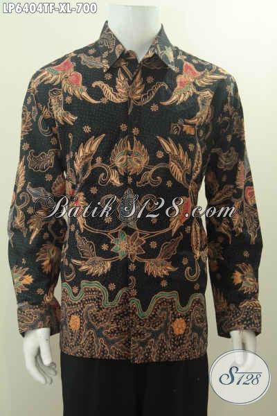 Jual Baju Batik Pejabat Kwalitas Premium, Hem Batik Halus Motif Mewah Proses Tulis Tangan Harga 700K Daleman Full Furing, Size XL