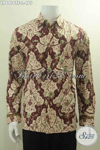 Baju Kemeja Batik Pria Dewasa Hem Batik Halus Proses