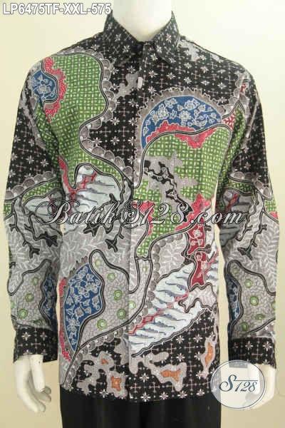 Hem Batik Jumbo Kwalitas Mewah Baju Batik Pria Gemuk