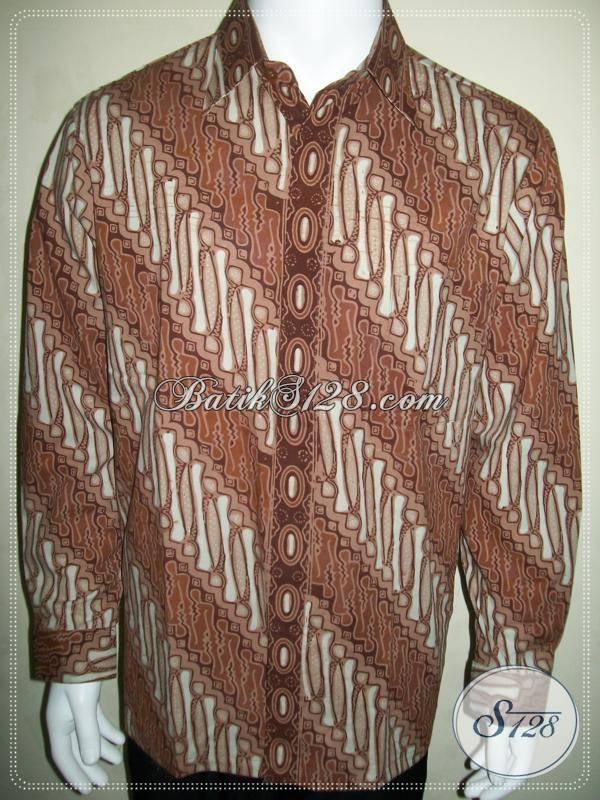 Hem Batik Parang, Proses Batik Cap, Lengan Panjang