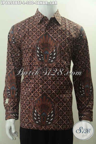 Kemeja Batik Klasik Cakar Lar Khas Yogyakarta Baju Batik
