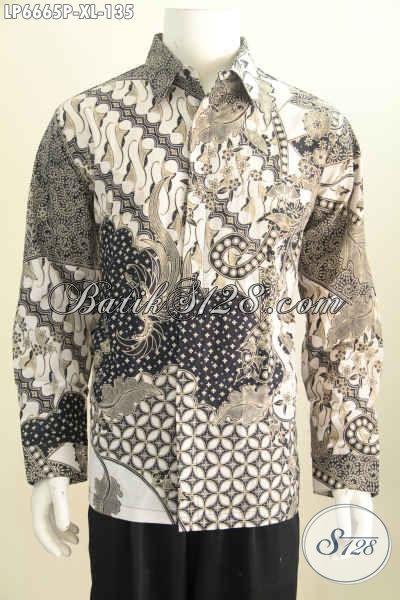 Koleksi Baju Batik Klasik Lengan Panjang Cocok Untuk Pria Dewasa ... e72fcce727