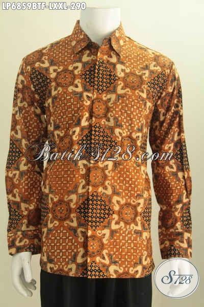 Jual baju batik formal untuk pria hem batik istimewa Jual baju gamis untuk pria