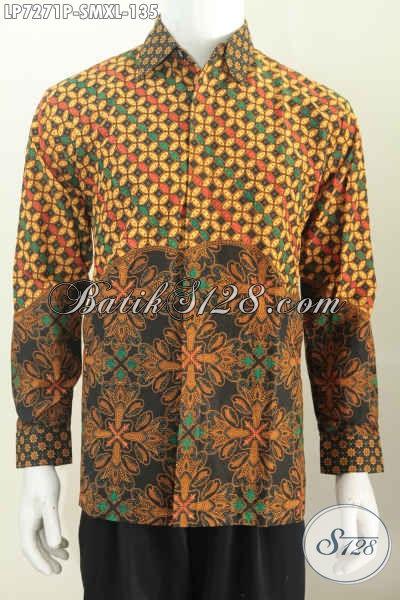 Baju Batik Halus Lengan Panjang, Kemeja Batik Berkelas Dari Solo, Toko Online Pakaian Batik Masa Kini, Pusat Baju Batik Untuk Tampil Bergaya, Size M – XL