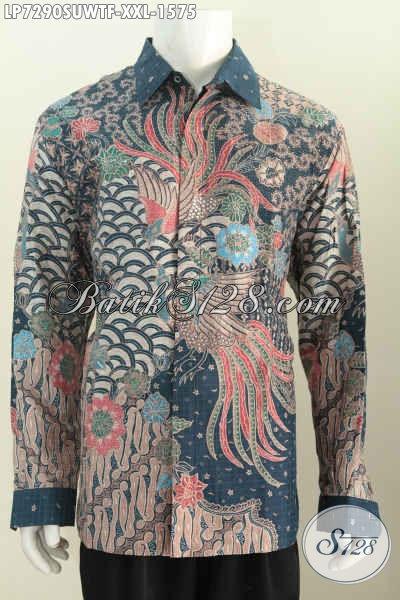 Hem Batik Premium Ukuran Jumbo Baju Batik Sutra 3l Bahan