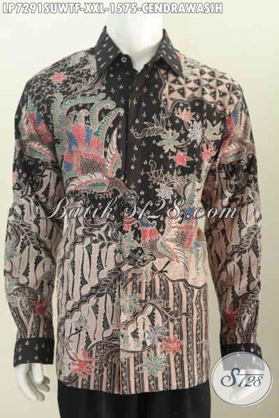 Baju Batik Sutra Istimewa Buat Pria Gemuk Baju Batik