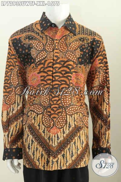Hem Lengan Panjang Premium Bahan Sutra Ukuran Jumbo Baju