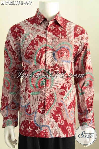Baju Batik Full Tulis Halus Kwalitas Premium Lengan Panjang Untuk Tampil Gagah Dan Mempesona [LP7425TF-L]