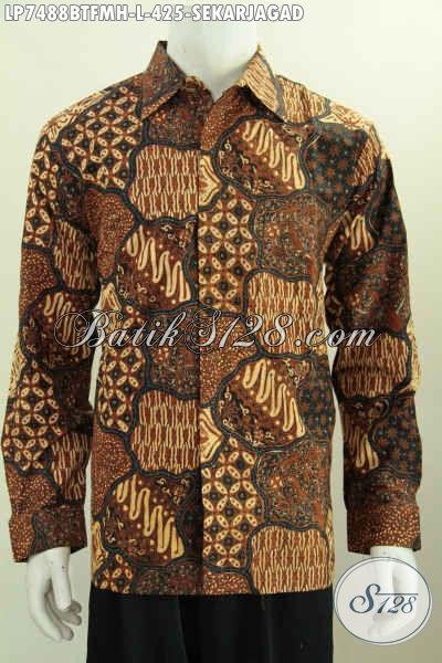 Motif Baju Batik Solo Motif Sekarjagad