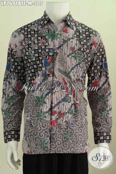 Jual Kemeja Batik Motif Terbaru, Busana Batik Berkelas Dan Kekinian Untuk Pria Tampil Beda [LP7691BTF-M]