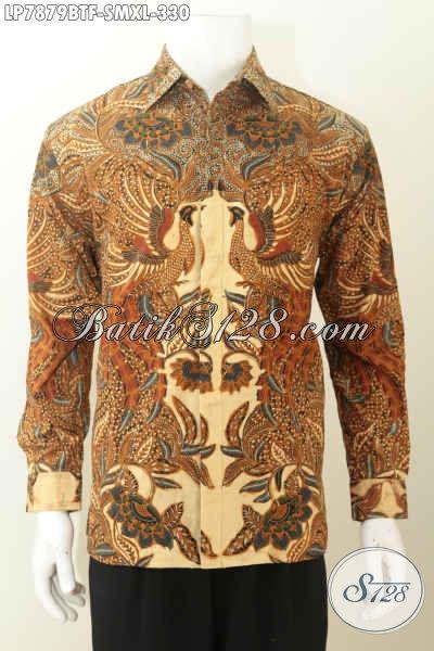 Batik Pria Elegan Berkelas Lengan Panjang